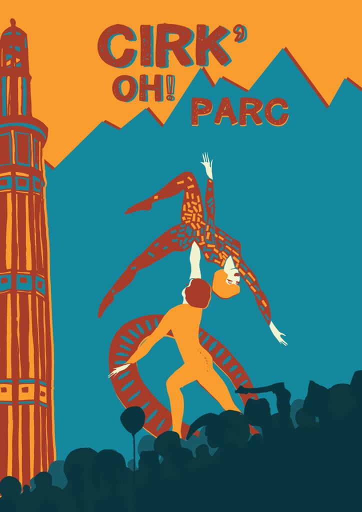 Affiche de l'événement Cirk' Oh! Parc